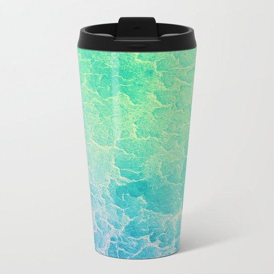 Tropical Waters Metal Travel Mug