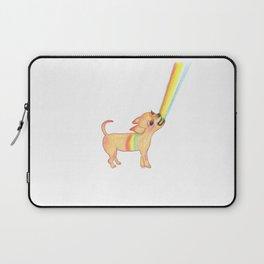 Rainbow Chihuahua super (weird) dog Laptop Sleeve