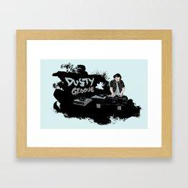 Dusty Groove Framed Art Print