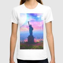 City of Liberty T-shirt