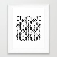 nordic Framed Art Prints featuring NORDIC by Nika