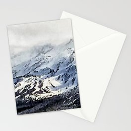 June Mountain: Panorama Mammoth Mountain Stationery Cards