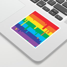 DRIPPY RAINBOW Sticker