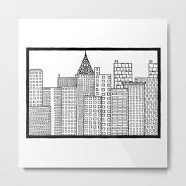 Big City Metal Print