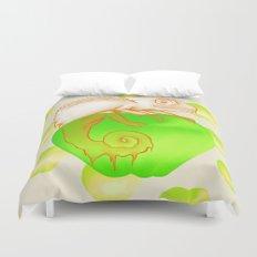 Caramel Chameleon Duvet Cover