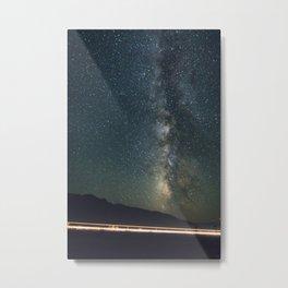 Milky Way Trucker Metal Print