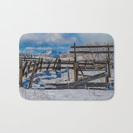 Broken Corral Bath Mat