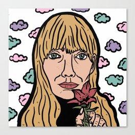 Joni Mitchell Canvas Print