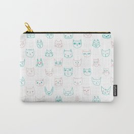 71 Kittens Carry-All Pouch