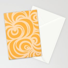 Tangerine Hygge Stationery Cards
