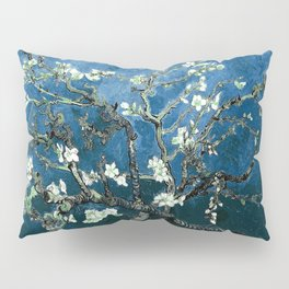 Van Gogh Almond Blossoms : Ocean Blue Pillow Sham