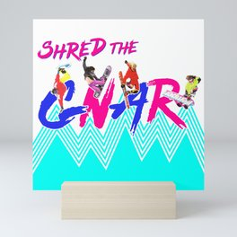 GNAR Mini Art Print