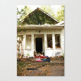 (broken) dream house Canvas Print