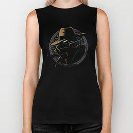 Undercover Ninja Leo Biker Tank