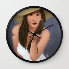 Blowkiss Wall Clock