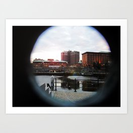 Providence Waterfront Art Print