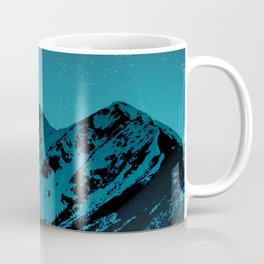 Mountains at night I // Boulder Colorado Coffee Mug