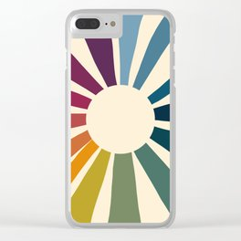 Retro Blossom Clear iPhone Case