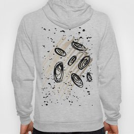 The Visitors - Black White and Gold Hoody
