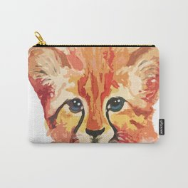 Leo the leopard cub Carry-All Pouch
