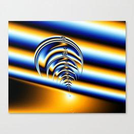 Trilobite Fractal Canvas Print