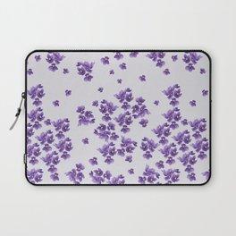 African Violets Laptop Sleeve
