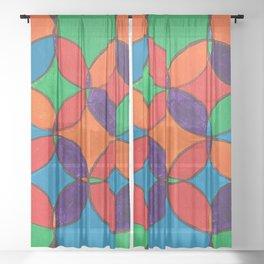 SPIROGRAPH Sheer Curtain