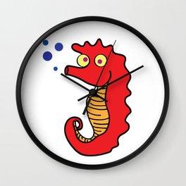 SEA DONKEY Wall Clock