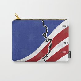 Pikes Peak Hillclimb Carry-All Pouch