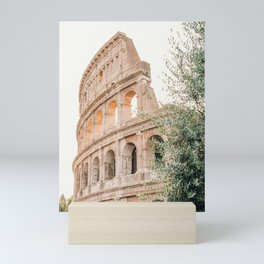 Morning at the Colosseum Mini Art Print