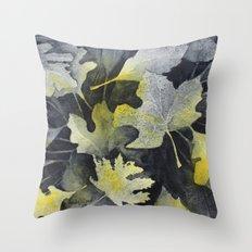 Leaf Study Throw Pillow