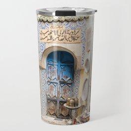 Doorway - Fes Ancient Medina Travel Mug