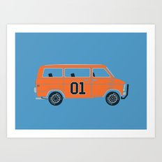 The General Van Art Print