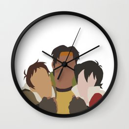 Primary Paladins - Voltron Legendary Defender Wall Clock