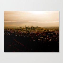 Little City Canvas Print
