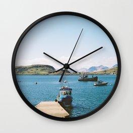 Oban Jetty Wall Clock