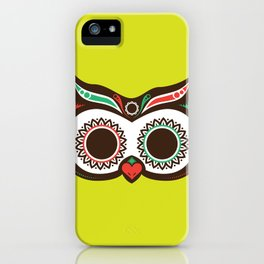 Day 0f the Dead Owl iPhone Case
