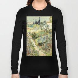 Vincent Van Gogh : Garden at Arles Langarmshirt