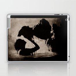 The kiss of the mermaid Laptop & iPad Skin