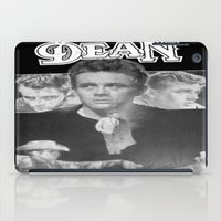 50s iPad Cases featuring  Dean Poster (Circa mid 50s) by Chris' Landscape Images & Designs