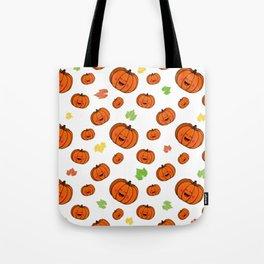 The happy pumpkin Tote Bag