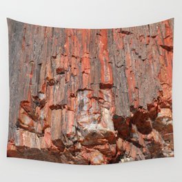 Agathe Log Texture Wall Tapestry