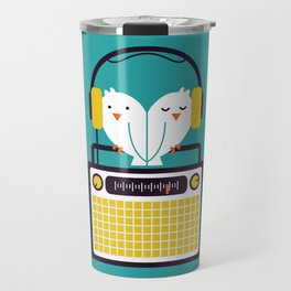 Radio Mode Love Travel Mug