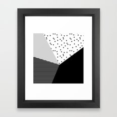 Geometry Blocks 10 Framed Art Print