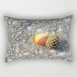 Little Acorn in the City Rectangular Pillow