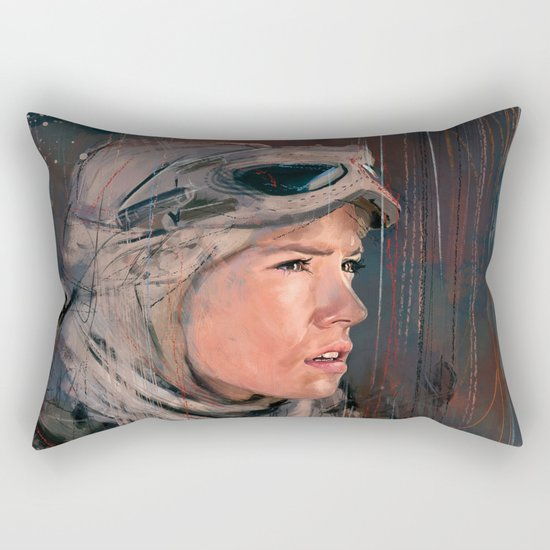 The Scavenger Rectangular Pillow