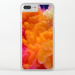Colors Explosion Clear iPhone Case