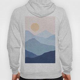 Abstraction_SUN_MOUNTAINS_LAYERS_POP_ART_M008B Hoody