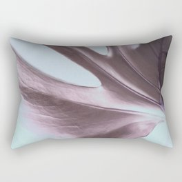 Cheeseplant Leaf Portrait Rectangular Pillow