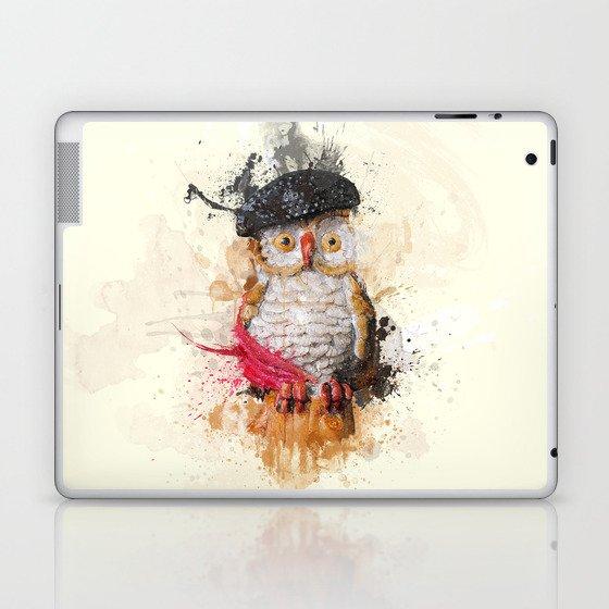 Spain Owl Laptop & iPad Skin